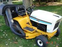 NICE LITTLE CUB CADET 1330 TWIN BAGGER SYSTEM THAT IS