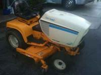 For sale is a Cub Cadet 1641 Garden Tractor (not a lawn