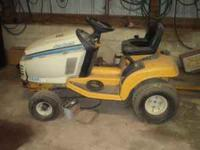 The lawn mower was bought new in 1996, it has a 13hp