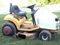 1996 cub mower , hydrostat drive, runs and cuts good,
