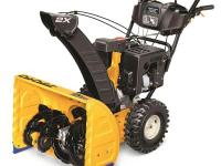 The Cub Cadet 277 cc, OHV 4-Cyle Two-Stage 26 in. gas