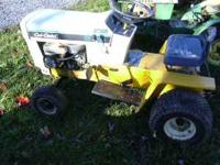 Cub Cadet 282 hydrostatic Tractor looks really nice and