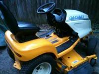 This isn't your home depot cub cadet,this mower was