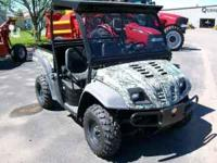 2008 Cub Cadet 4x4 Utility Vehicle, Camo, Only 16 Hours