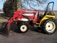 If you are looking for a tractor that is a little power