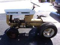 Antique cub cadet 73 great cond. for age, good trans