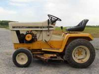 I have a cub cadet 86 garden tractor. It has new piston