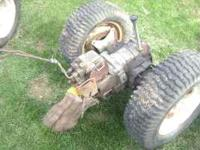 I have a complete rearend hydro drive unit as described