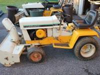 "Selling a Cub Cadet with 42"" snowthrower , 42"" snow /"