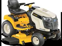 CUB CADET GTX 2100 WITH THE 23 HP KOHLER