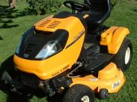 VERY NICE CUB CADET ZERO TURN MOWER WITH STEERING