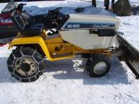 I have a 1989 Cub Cadet 1512 with a 15 horsepower