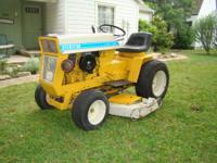 Cub Cadet Lawn Tractor Model 125 hydo. 12.5 hp 48 in