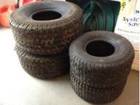 Lawn turf tires. Off a 2155 Cub Cadet. Decent tread.