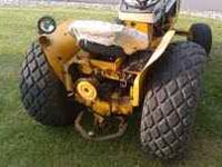 I have a very good running cub cadet tractor for sale