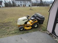 Cub Cadet LT1018 ,only 95 hours on it 18.5hp B&S engine