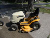 I have a cub cadet riding lawn mower for sale. It has a