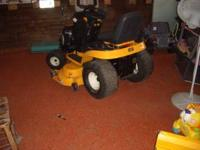cub cadet ltx1050 kw for sale. Engine seized with 4.9