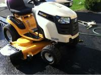 "I bought a new 2011 50"" Cub Cadet mid-last year and so"