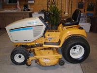 "CUB CADET SUPER GARDEN TRACTOR&MOWER, 54"" CUT DECK,ALL"
