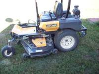 2008 model year, 25 hp, Kolher Command, 220 hours.