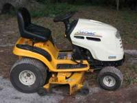 2007 Cub Cadet Lawn Mower. 46 inch cutting deck, mower