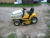 Cub cadet riding mower 18 hp kohler engine, 48 inch