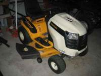 Bought New this year Cub Cadet lawn tractor 46in cut