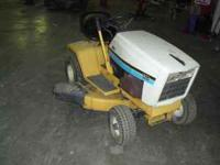 Have an older, but in good condition Cub Cadet mower
