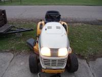Series 2000 Cub Cadet Riding Mower in good condition,