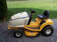 "1998 Cub Cadet,operated only 125 hrs . Has 36"" deck,"