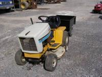 Cub Cadet riding mower 1105 Briggs 36in cut 5 speed LT