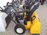 sale on snow blowers 2012 Cub Cadet snow blower 528SWE