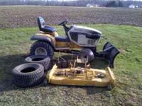 1782 Cub Cadet Super Garden Tractor- 3 cylinder Kubota
