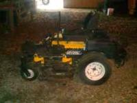 Cub Cadet Tank, Commercial zero turn mower. 48 inch