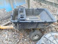 We are looking to sell our plastic tow behind cub cadet