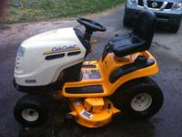 "International Cub Cadet Tractor 4 yrs old, 46"" cut,"