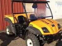 Cub cadet utv runs great call  Location: Jackson