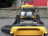 I have a year old cub cadet commercial walkbehind for