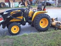 Up for sale is a Nice 2009 Cub Cadet Yanmar Ex3200 4x4,
