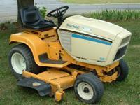 Cub Cadet yard tractor. 16 Hp Briggs motor. fully