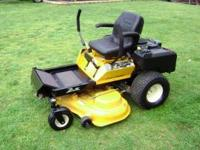 THIS CUB CADET Z FORCE HAS: A 23 H.P. KOLHER COMMAND