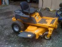 This mower we just had tradin.. We just had it all