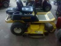 Cub Cadet zero turn mower with a 50 inch deck, 22 hp