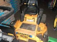 This listing is for a Good Used Cub Cadet RZT50