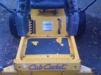 For Sale: Cub Cadet RZT 50 Zero Turn Mower Good