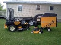 "I have Last years model of the Cub Cadet Tank 48"" deck"