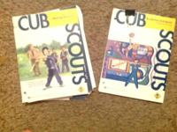 I have two cub scout books for sale.  One is an