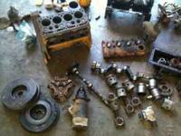 useable used parts...2 engine blocks, head,standard