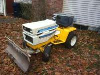 This is a very nice IH Cub Cadet Model 1450 Garden